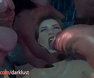 Hentai 3D Gangbang DP