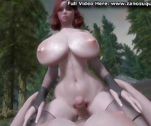 3D Hentai - Futa Big Tits