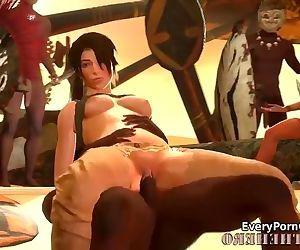Lara Croft Getting..