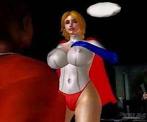 Power Girl Bust The..