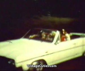 Three Hitchhiking Girls..