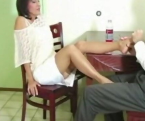 Hot MILF Roni gives her..