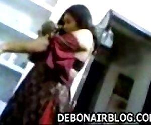 Mallu wife on her..