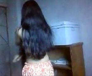 Indian cute teen girl..