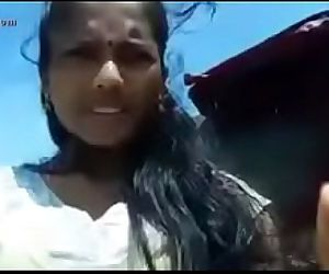Indian teen outdoor in..