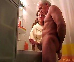 Granddaughter help her..