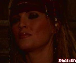 Lesbian pirates in..