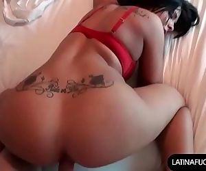 Sexy Latina Slut Takes..