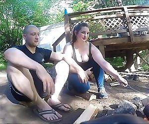 Lost Hiker Girl Gets..