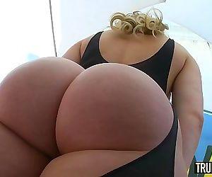 TRUE ANAL Bubble butt..