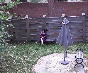 hidden camera. young..