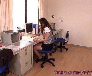 Japanese teen secretary..