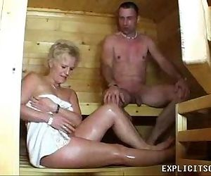 Milf fucking in the..