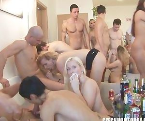CZECH HOME ORGY PARTY