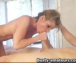 Teras rides on cock and..