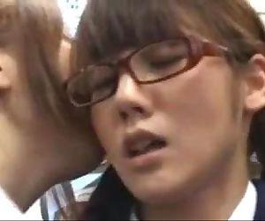 Japanese lesbian in..