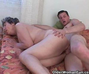 Cock Hungry Grandmother..