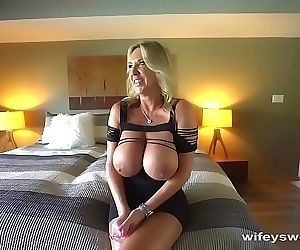 MILF With Big Tits Gets..