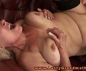 Blonde GILF amateur..