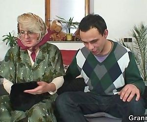 Old ma pleases a..