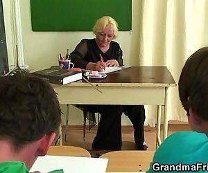 Mature teacher is..