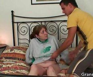 Injured granny is..
