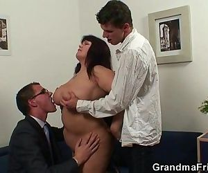 Huge titted bitch takes..