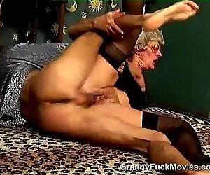 Hairy Granny Snatch..