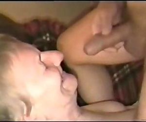 Cumming on face of my..