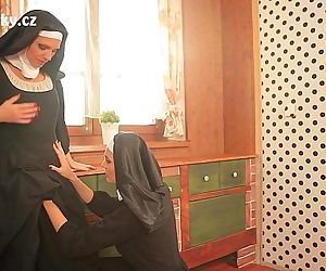NUNS ENJOYING Faggot..