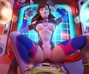 Overwatch - D.va with..