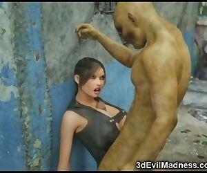3D Lara Croft Needy..