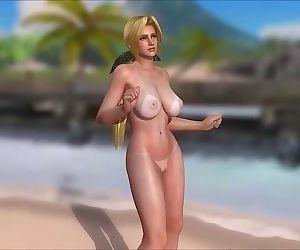 DOA undress dances