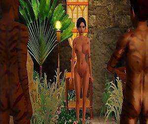 Lara Croft vs Behind..