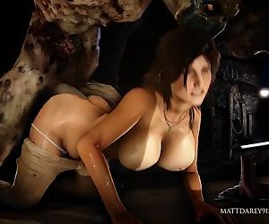 Lara Croft got fucked..