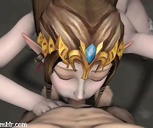 Zelda Blowjob - Roughly..