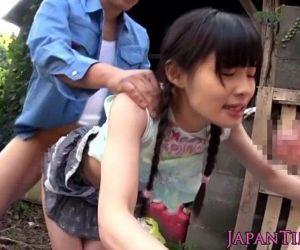 Tiny japanese hos face..