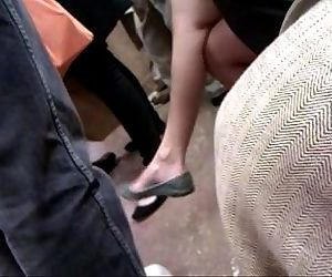 Asian milf on F train..