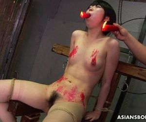 Asian bitch loves to be..