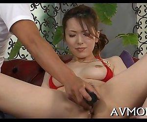 Oriental milf loves..