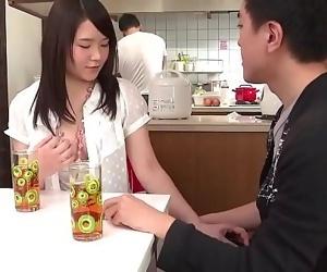 Sanae Akino blows hubby..