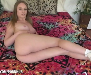 Daisy Stone shows off..
