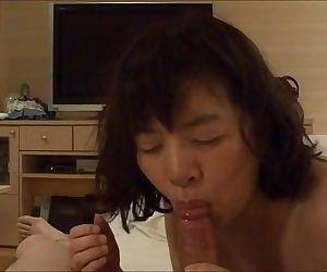 Horny Japanese milf Kui..