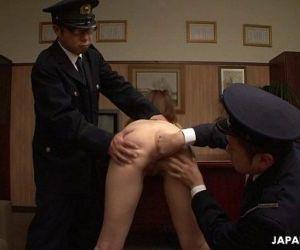 Asian naked prisoner..