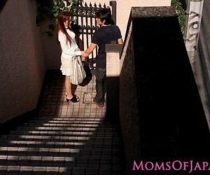 Japanese mom cheats and..