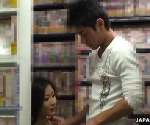 Ryo is sucking her man..
