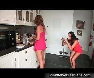 Hot cute lesbian babes,..