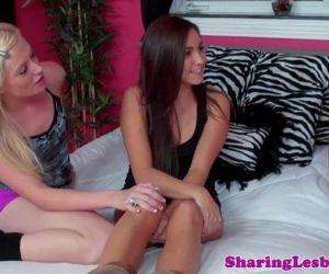 Teenage lesbian..