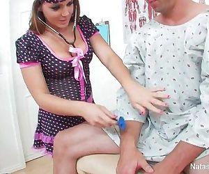 Horney Nurses With..