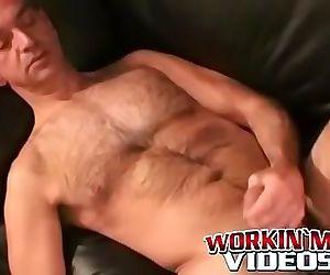 Big cock masturbation..